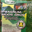 Grön Sphagnum mossa