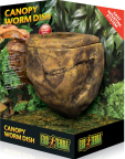Canopy worm dish